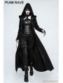 Black Gothic Dark Angel Long Coat for Women