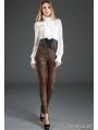White Palace Style Chiffon Blouse for Women