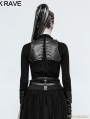 Black Gothic Back Clip Accessory