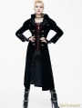 Black Gothic Vintage Palace Style Long Jacket for Women