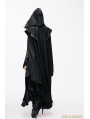 Black Gothic Big Cape for Women