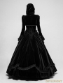 Black Romantic Gothic Ball Gown Long Dress