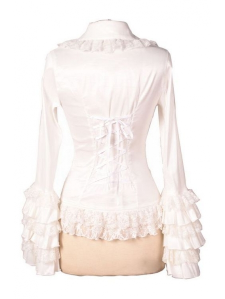 You searched for: white ruffle blouse! Etsy is the home to thousands of handmade, vintage, and one-of-a-kind products and gifts related to your search. No matter what you're looking for or where you are in the world, our global marketplace of sellers can help you find unique and affordable options. White Ruffled Long Sleeve Blouse.