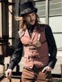 Brown Industrial Steampunk Man Vest