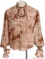 Do Old Steampunk Long Sleeve Blouse for Men