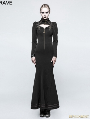 Do Old Steampunk Long Dress