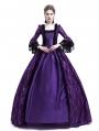 Purple Masked Ball Gothic Victorian Costume Dress