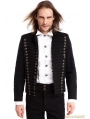 Black Gothic Vintage Short Jacket for Men
