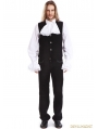 Black Gothic Vest for Men