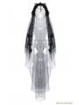 Romantic Gothic Bride Cross Veil