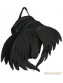 Black Gothic Angle Wings Shoulder Backpack Bags