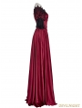 Red Victorian Vintage Palace Ball Gown Dress