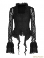 Black Gothic Gorgeous Lace Outwear for Women