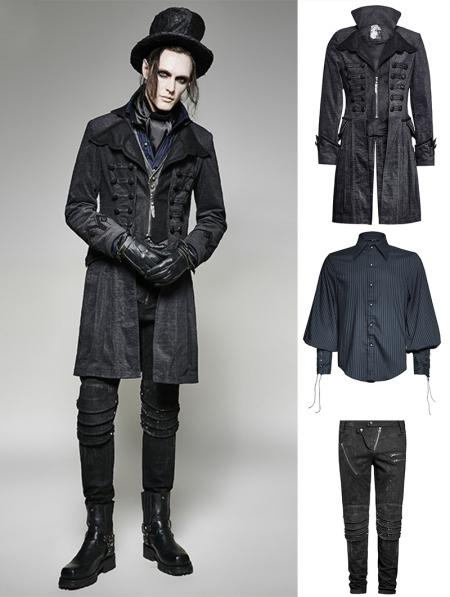 gothic decadent noble suit for men devilnightcouk
