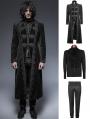 Black Gorgeous Vintage Style Gothic Suit for Men
