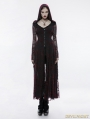 Gothic Witch Long Hooded Coat for Women