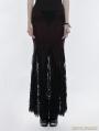 Gothic Lace Mermaid Half Skirt
