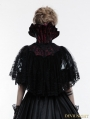 Gothic Lace Queen Style Short Cloak