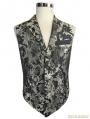 Gothic Vintage Pattern Waistcoat for Men