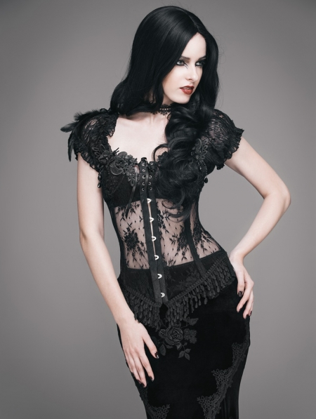 Sexy gothic gowns
