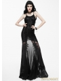 Black Sexy Gothic Goddess Mermaid Dress