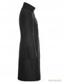 Black Vintage Gothic Gorgeous Jacquard Coat for Men
