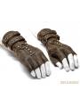 Coffee Steampunk Gloves for Men
