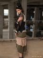 Steampunk Layer Long Skirt