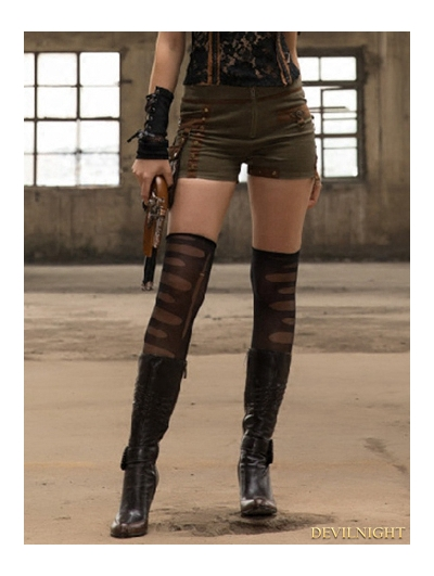 Steampunk Shorts with Bag