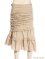 Ivory Do Old Style Steampunk Long Skirt