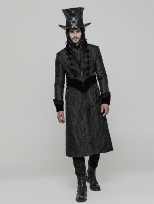 Gothic Victorian Gorgeous Long Coat for Men