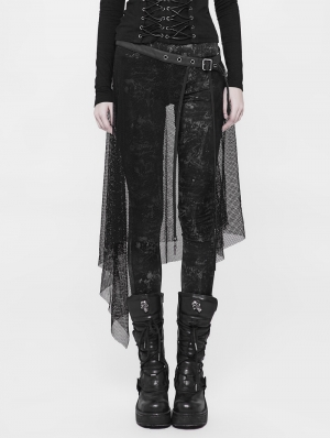 Black Gothic Individual Net Belt