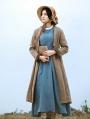 Brown Vintage Medieval Inspired Coat for Women
