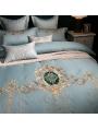 Vintage Palace Embroidery Comforter Set