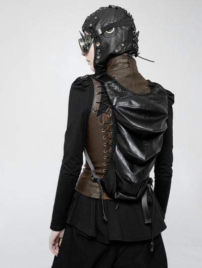 Black Gothic Dark Personality Backpack