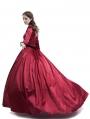 Red Belle Ball Princess Victorian Masquerade Dress