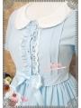 Strawberry Witch Peter Pan Chiffon Sweet Lolita Dress