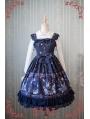 Strawberry Witch Alice's Dreamland Chiffon Lolita Jumper Dress