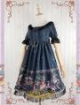 Strawberry Witch Playground Printed Sweet Lolita OP Dress