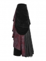 Gothic Palace Gorgeous Medium Length Half Skirt