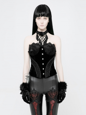 Black Gothic Gorgeous Lace Corset