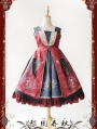 Infanta Chinese Pattern Classic Lolita Jumper Dress