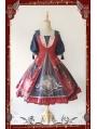Infanta Chinese Pattern Classic Lolita OP Dress