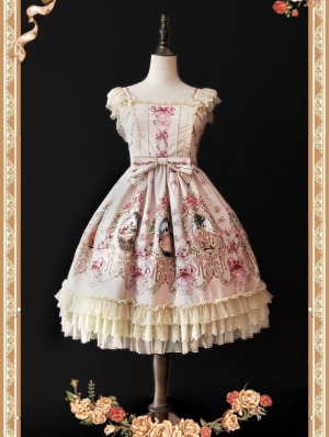 Infanta Fairytale Town Dance Sweet Lolita Jumper Dress