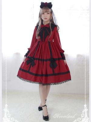 Neverland Wing of Devil Classic Lolita OP Dress