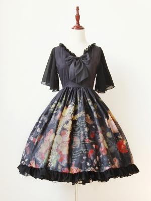 Neverland Maiden's Garden Chiffon Lolita OP Dress