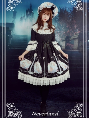 Neverland Starlit Aquarius Classic Lolita OP Dress