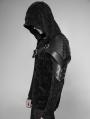 Black Gothic Punk Cone Nail Armor Accessory