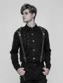 Black Gothic Punk Shoulder Strap Accessory