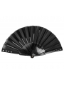 Gothic Punk Fabric Rivet Fan